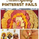 Thanksgiving Pinterest Fails