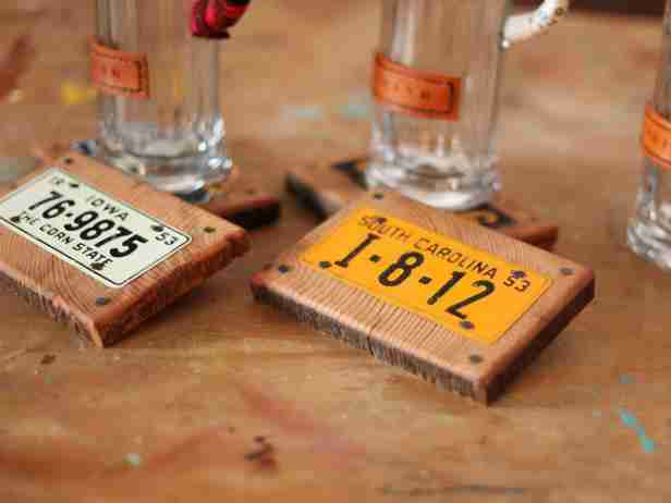 Personalized Bar Set (HGTV) - DIY Gifts for Guys
