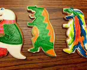 Eleni's Color Me Dinosaur Cookies with Edible Ink Markers