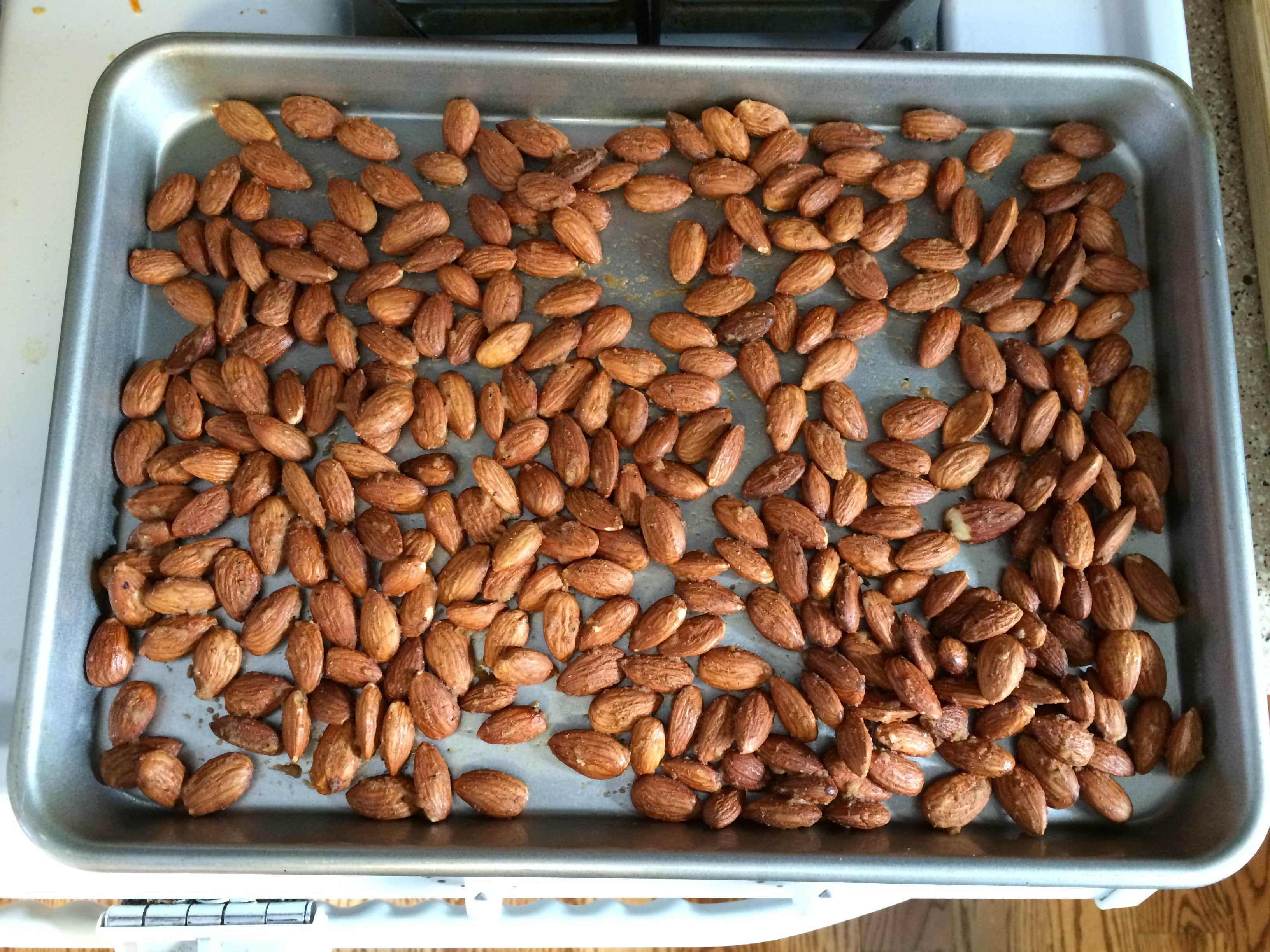 Spicy Smokehouse Almonds
