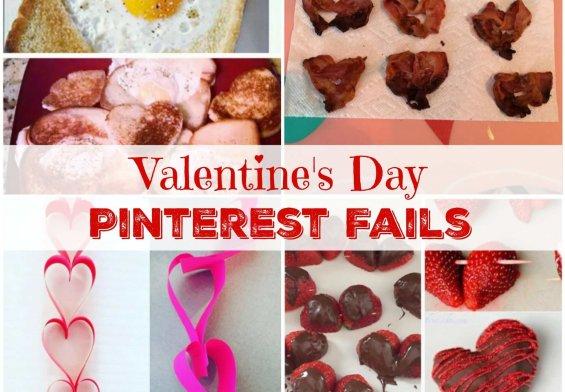 Valentine's Day Pinterest Fails
