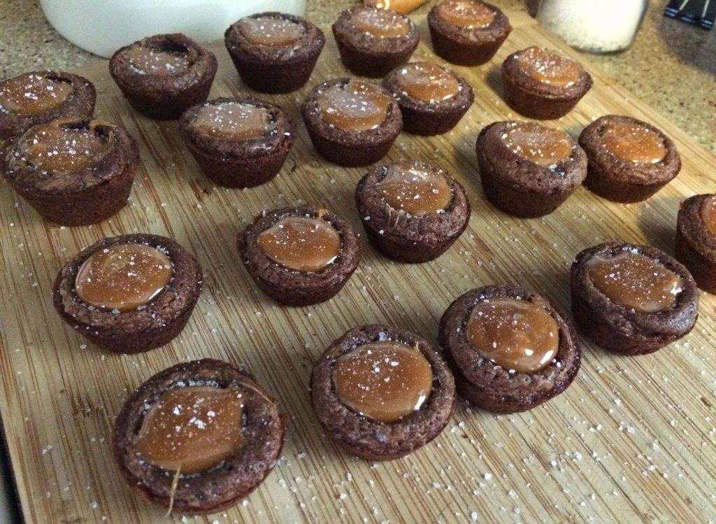 Decorated Brownie Bites Recipe — Dishmaps