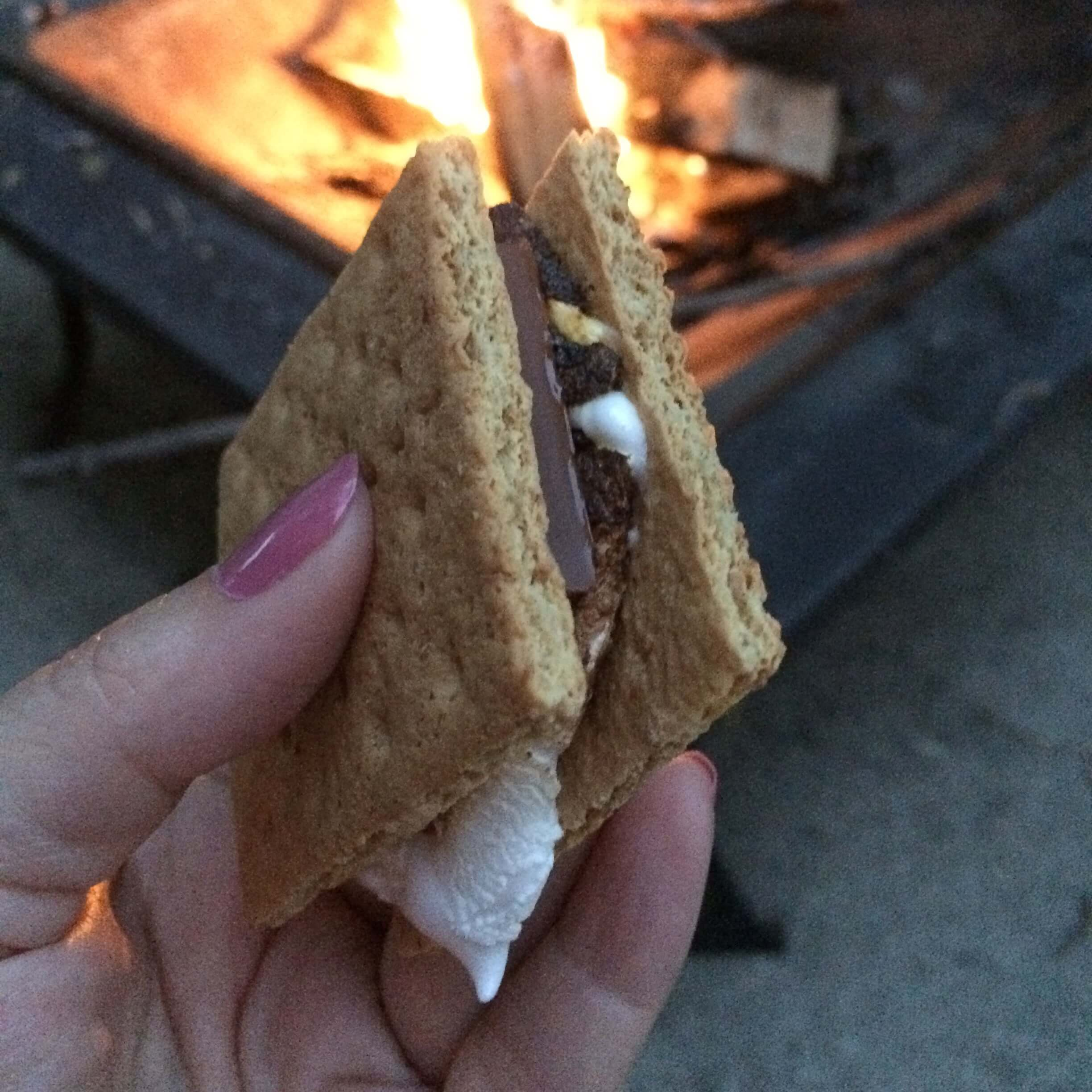 Smores by the Fire