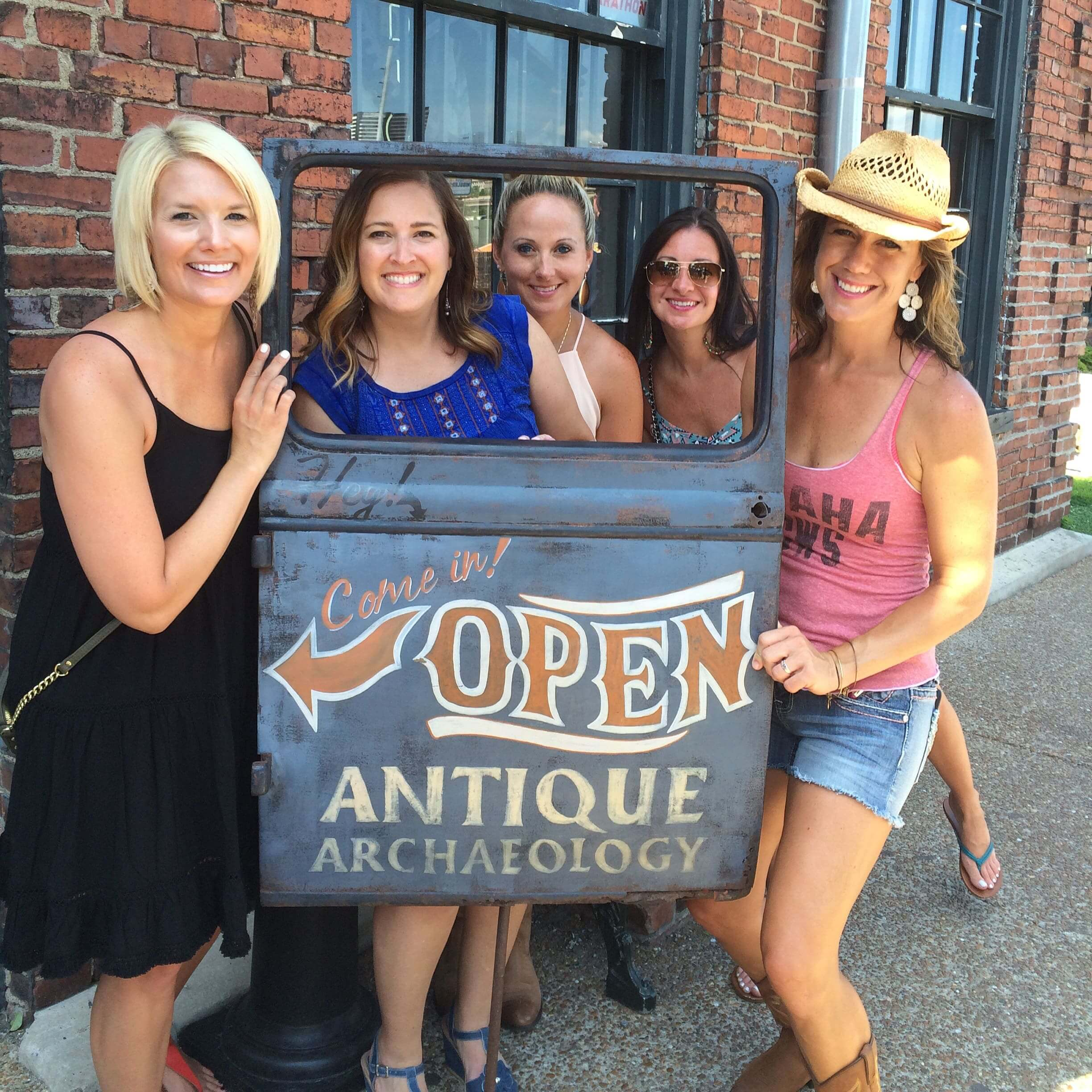 Antique Archeology Sign - Nashville Girls Trip