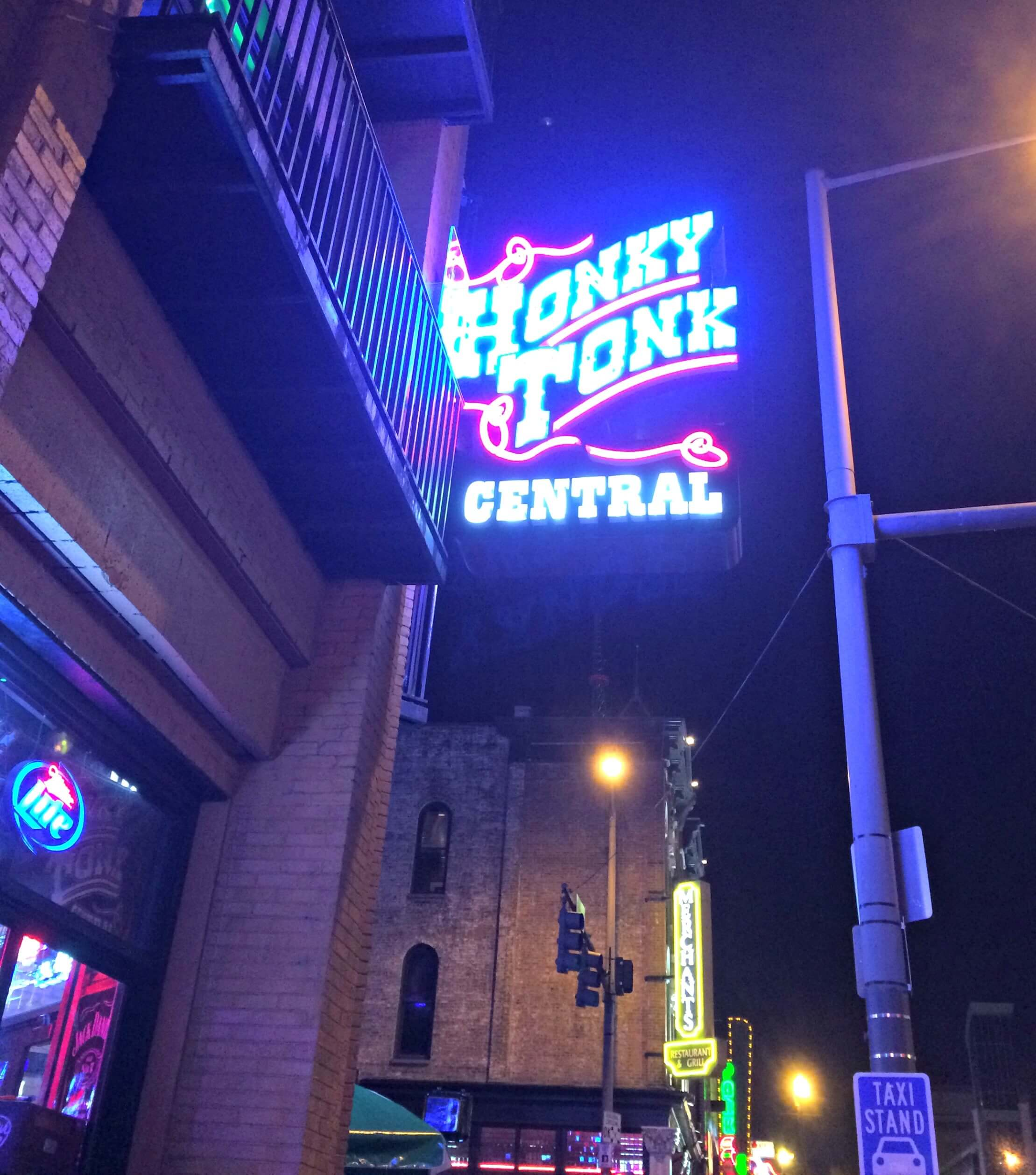 honky tonk central - Nashville, TN