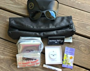 Better Things Giveaway - including Rayban Sunglasses, leather clutch, Chipolo Bluetooth keychain and more!