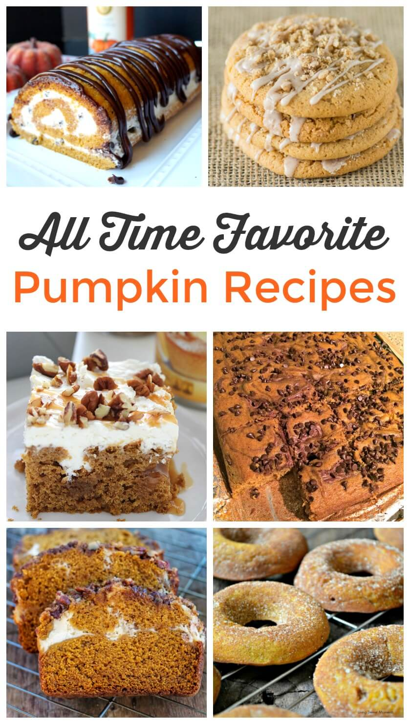 All Time Favorite Pumpkin Recipes