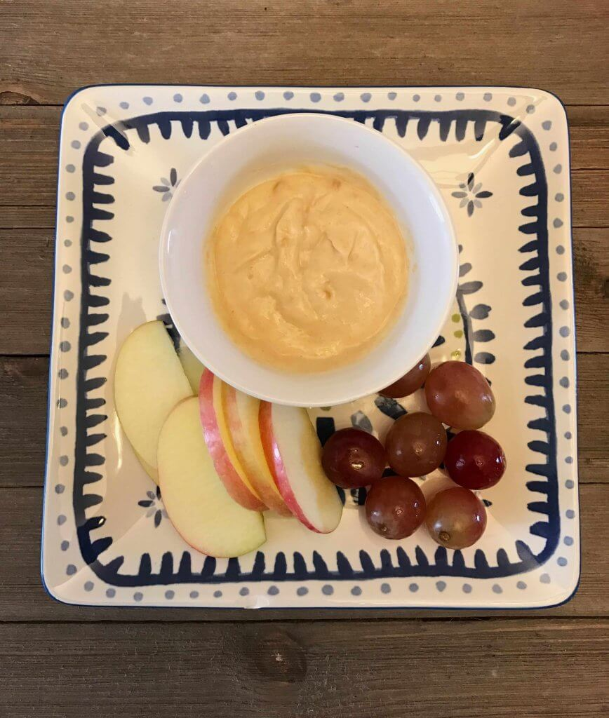 Yogurt Peanut Butter Fruit Dip