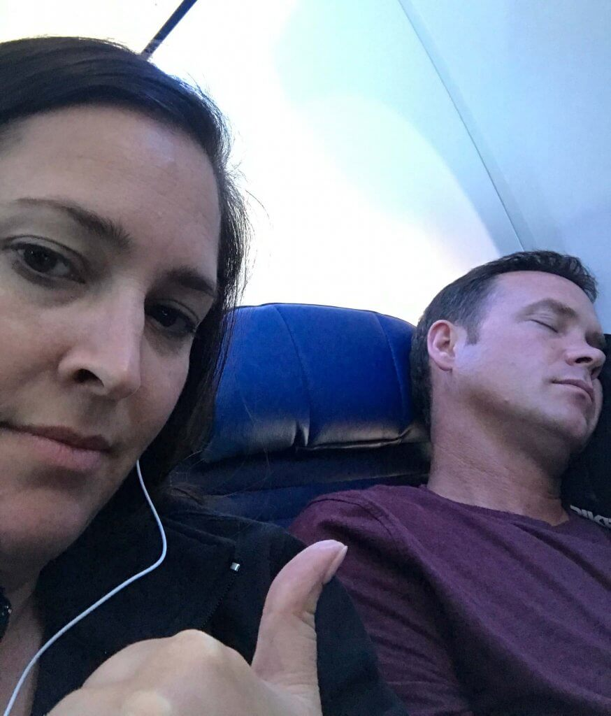 10 Things to Do on an Airplane - sleep