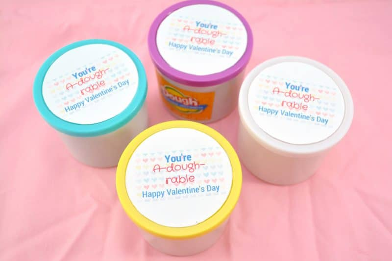 photo relating to Play Dough Valentine Printable titled Non-Sweet Valentines - Absolutely free Printables! - At times Selfmade
