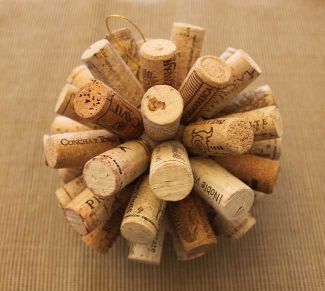 Wine Cork Ball Sometimes Homemade